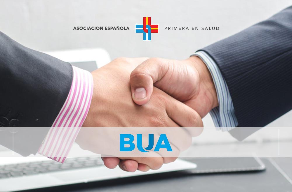 Convenio con la Asociación Española