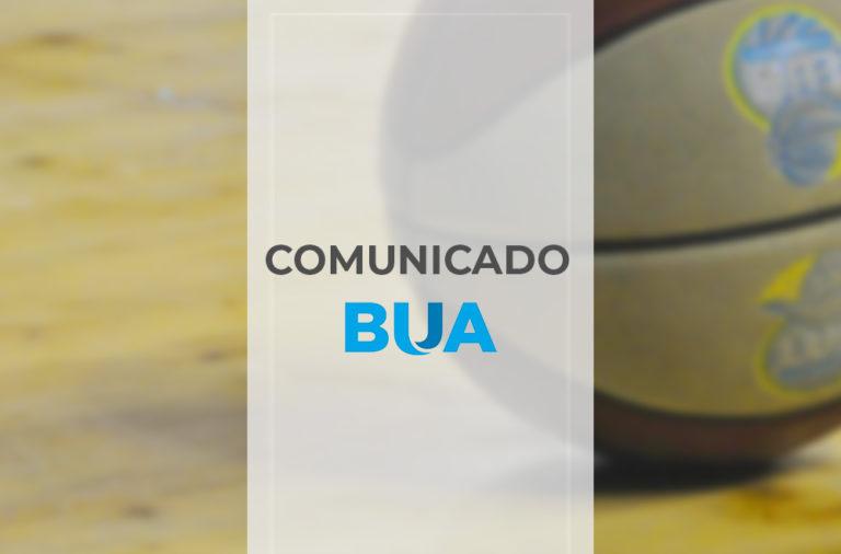 Comunicado BUA